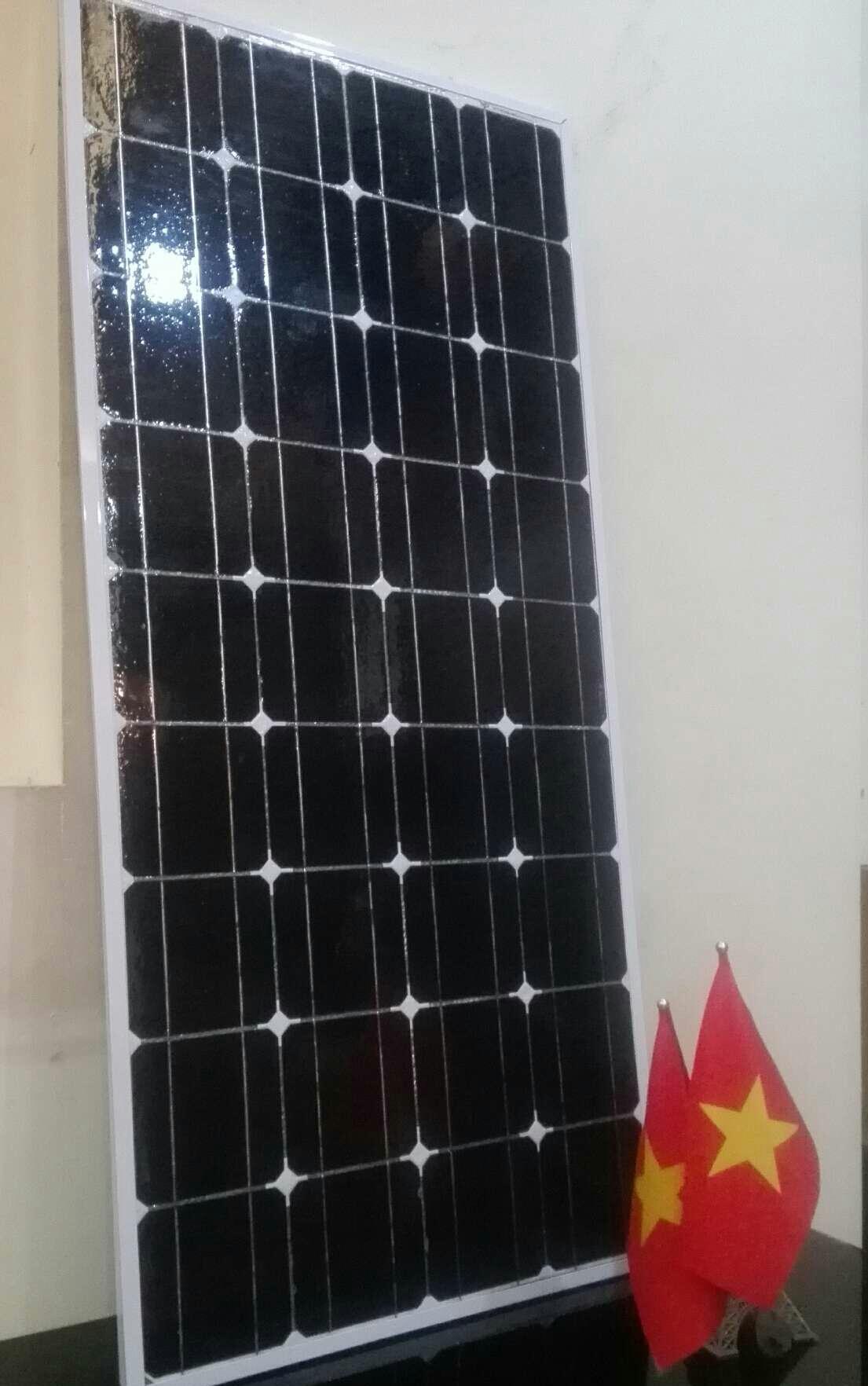 TẤM PIN NĂNG LƯỢNG MẶT TRỜI Mono 100W - Mono solar panel 100W