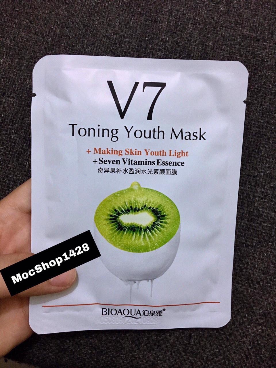 Combo 10 Mặt Nạ V7 Hương kiwi nhập khẩu