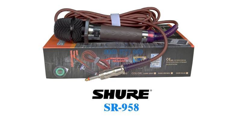 Mic có dây  SR-958