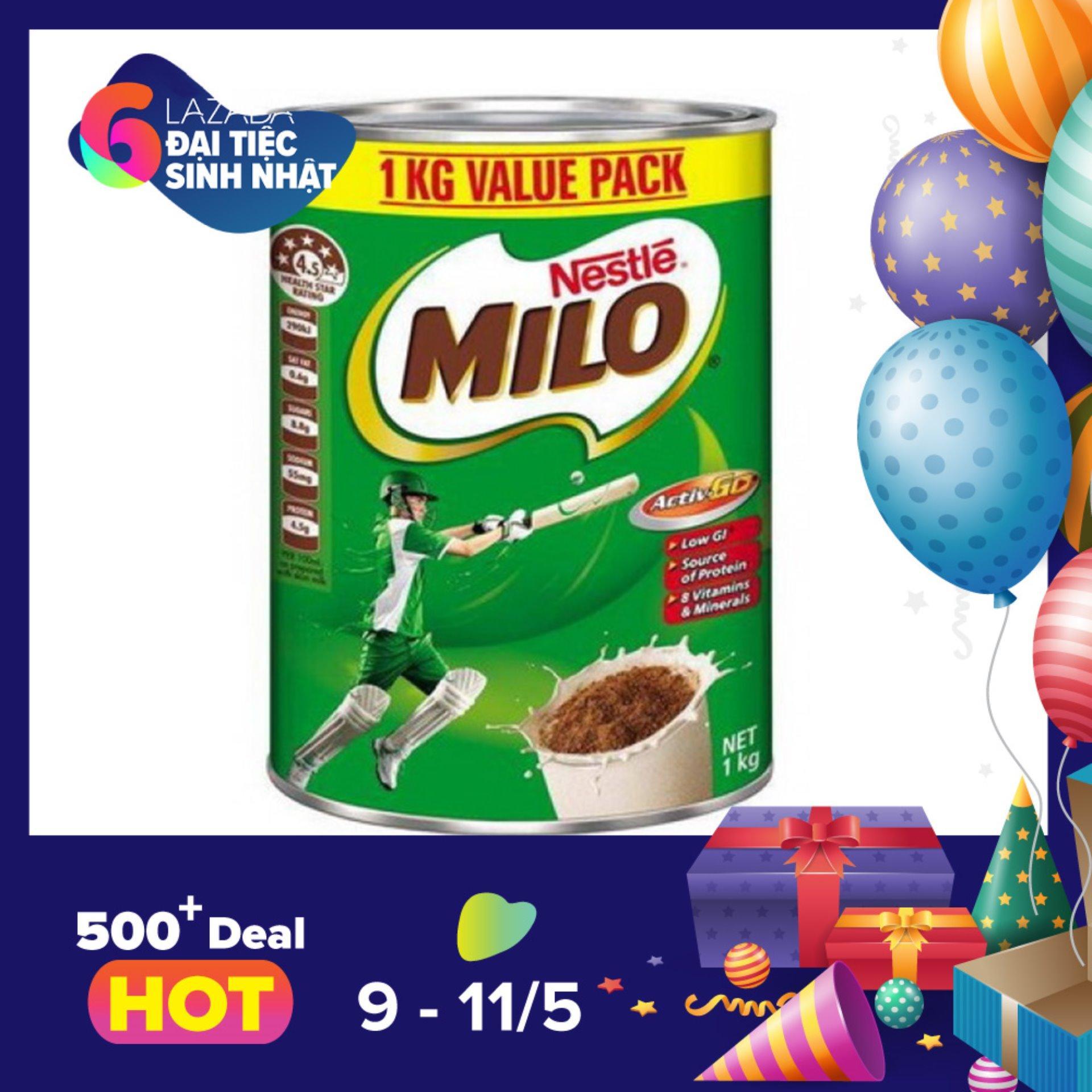 Ôn Tập Sữa Nestle Milo 1Kg Hồ Chí Minh