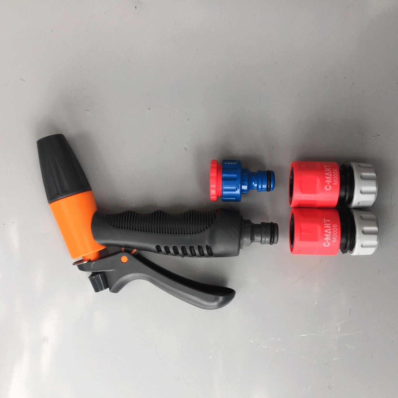 Bộ đầu nối nhanh + vòi phun nước tùy chỉnh nhiều chế độ