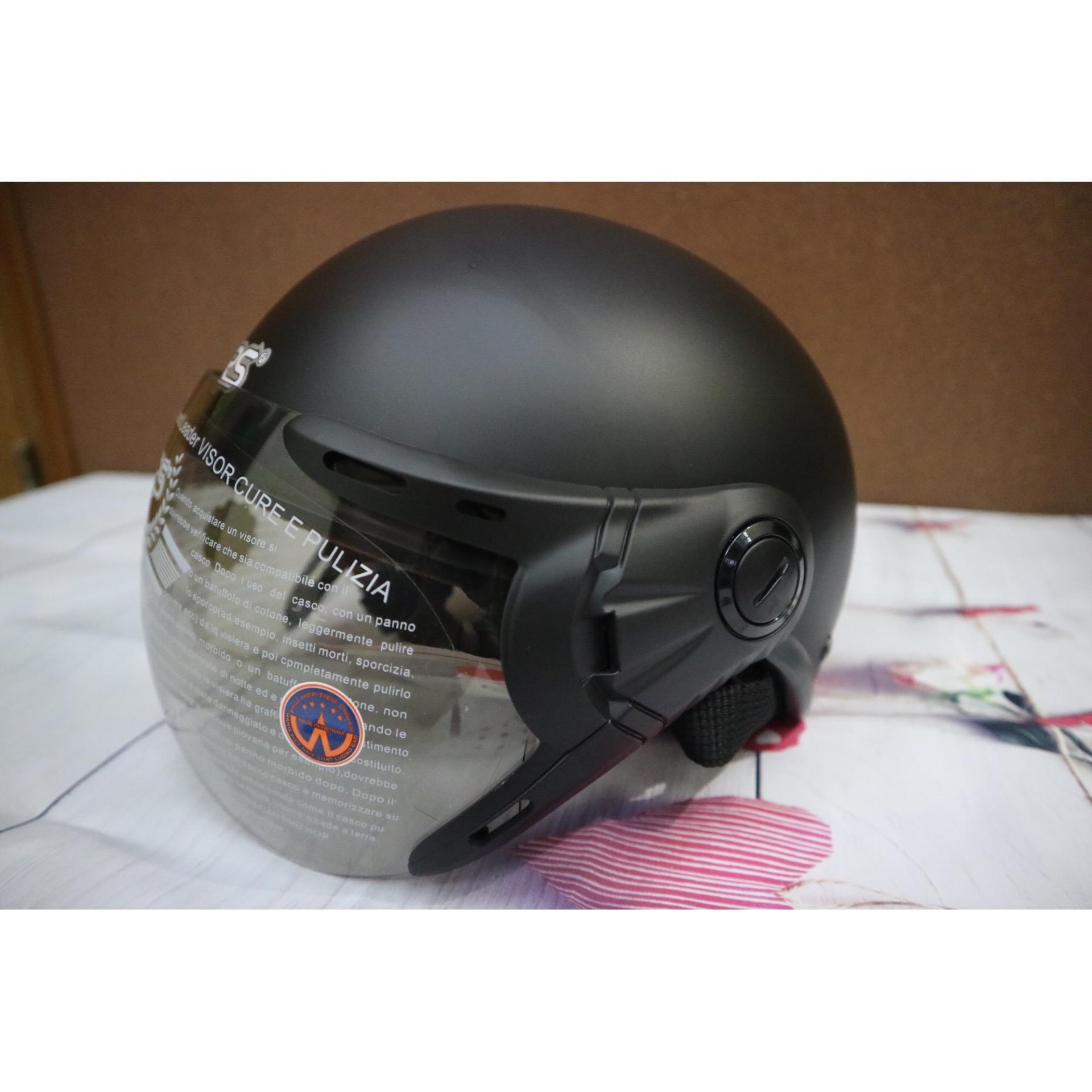 Mũ bảo hiểm GRS A33k (đen nhám) Nhật Bản