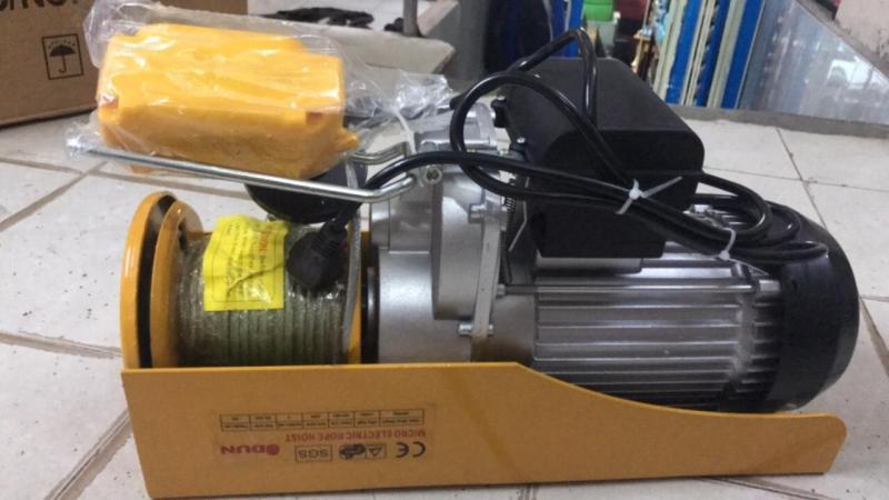 Tời điện Udun 500-1000kg, hàng  thương hiệu  UD Thái lan