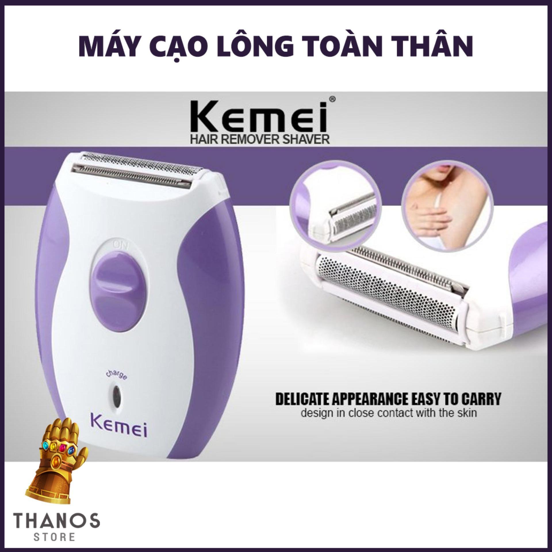 Máy cạo lông toàn thân Kemei 280R - Thanos Store