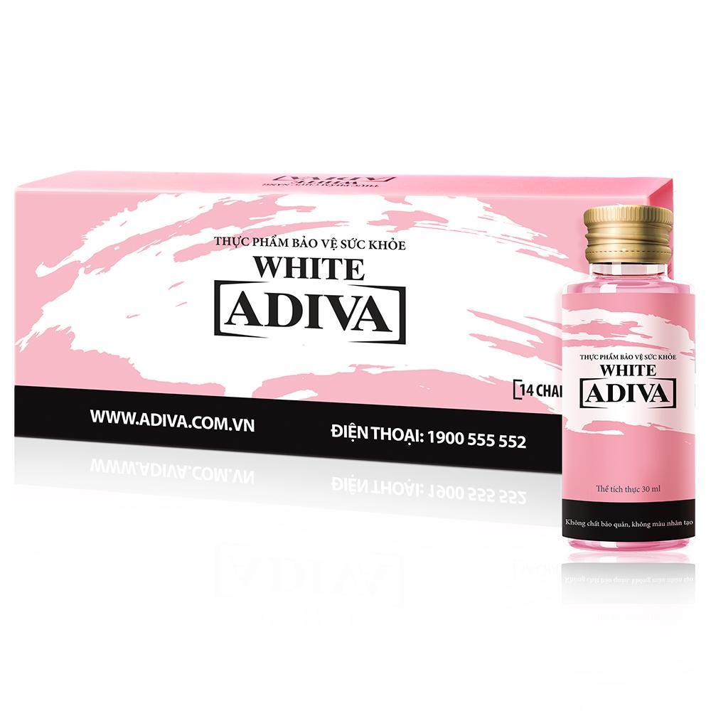 White Adiva (14chai x 30ml), Dưỡng chất uống làm đẹp
