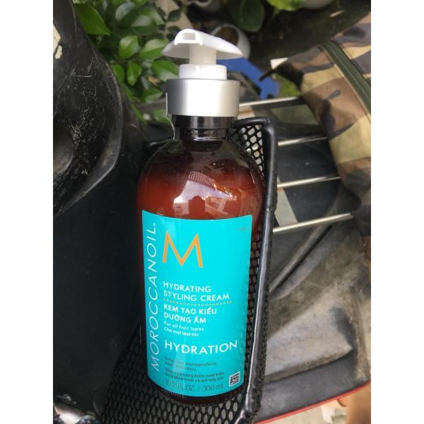 Kem tạo kiểu dưỡng ẩm Moroccanoil Hydrating Styling Cream 300ml cao cấp