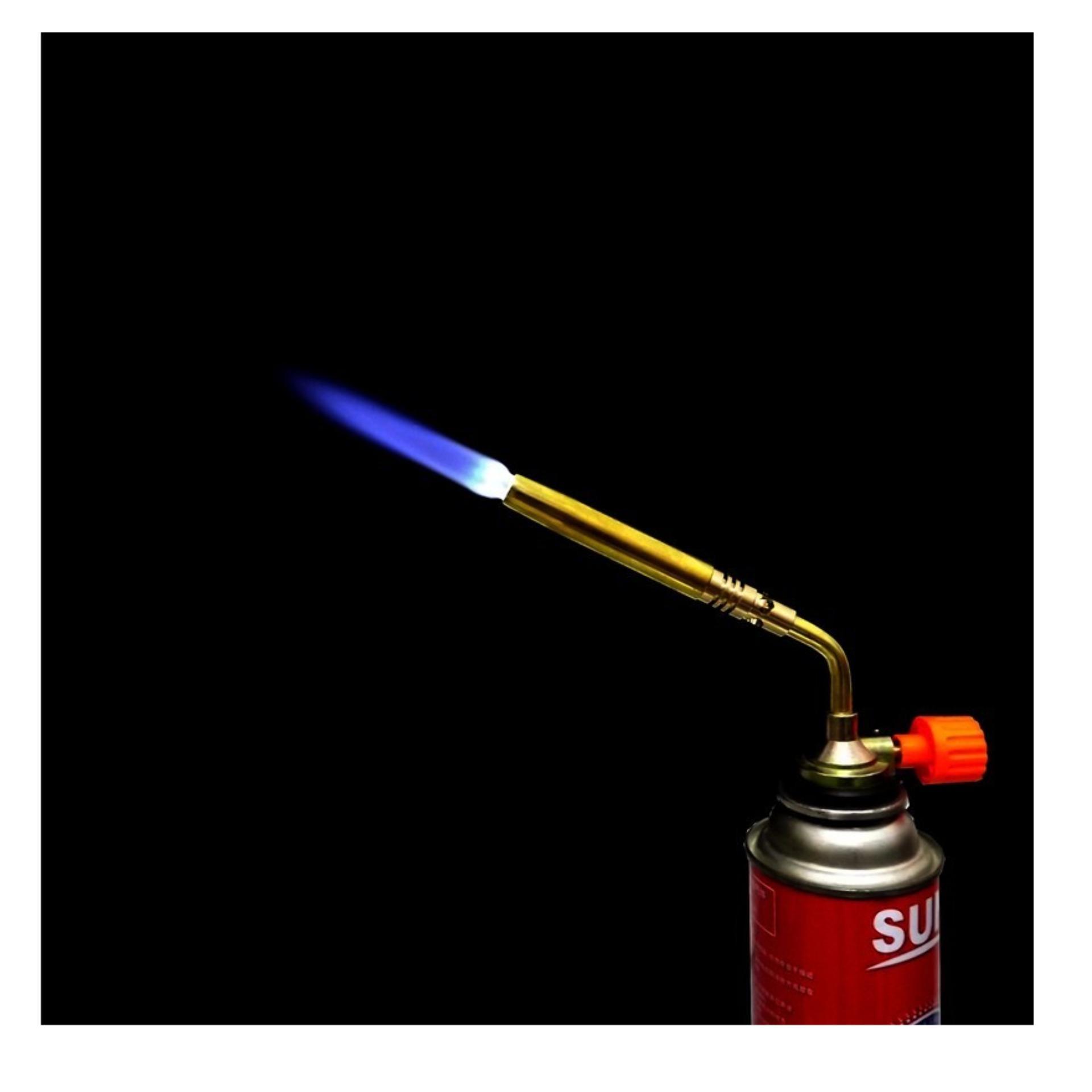 Đèn khò hàn ống đồng - Dụng cụ hàn và khò sử dụng bình ga mini - Sử dụng bình gas mini[HKD]