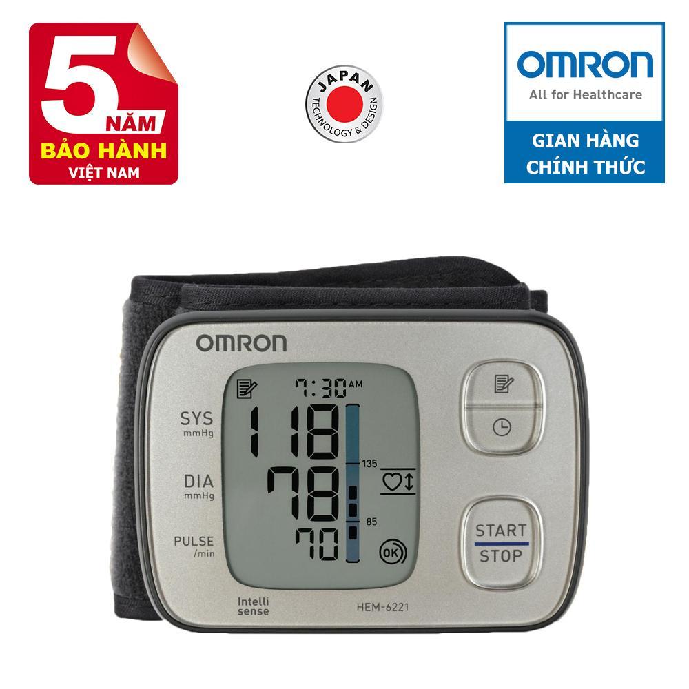 Máy đo huyết áp Omron HEM-6221-AP chính hãng