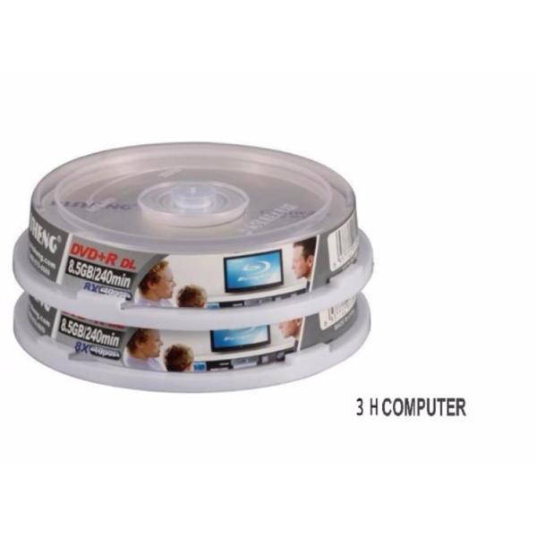 Bảng giá Bộ 10 đĩa trắng DVD RISHENG 8.5G Phong Vũ