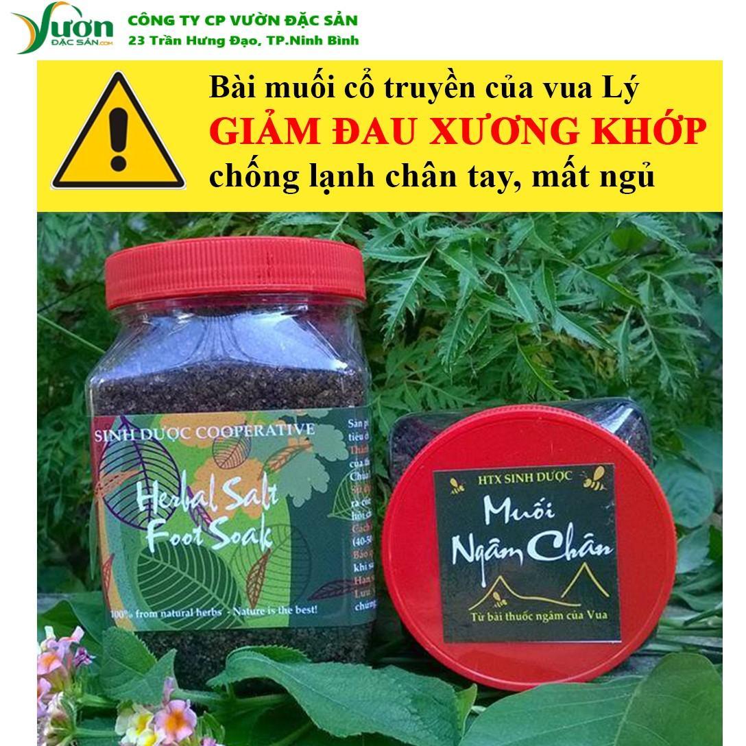 Muối thảo dược ngâm chân Sinh Dược 450gr 100% tự nhiên từ bài thuốc cổ truyền -VDS.,jsc