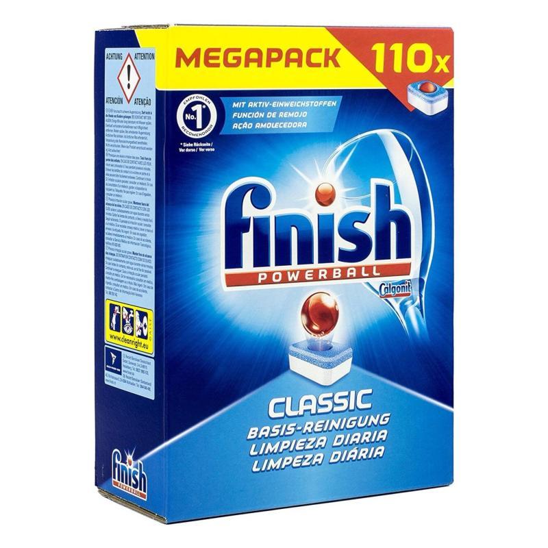 Viên Rửa Bát Finish Classic 110 Viên Tiết Kiệm