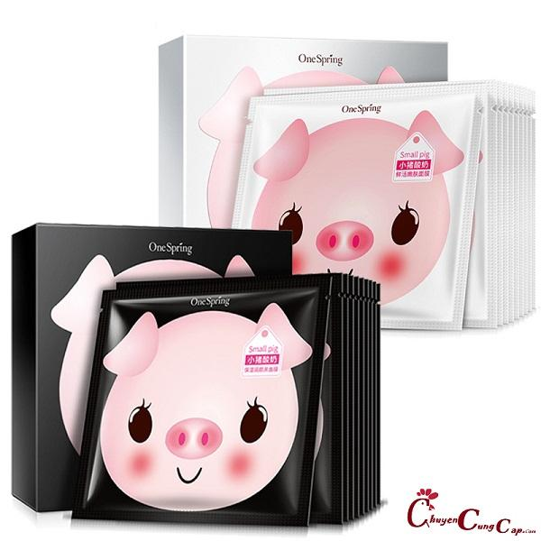 Mặt nạ Yaourt  heo Pig Milk Replenishment Mask siêu cute