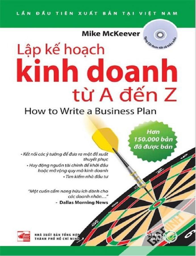 Mua Lập Kế Hoạch Kinh Doanh Từ A-Z + Tặng kèm Bookmark