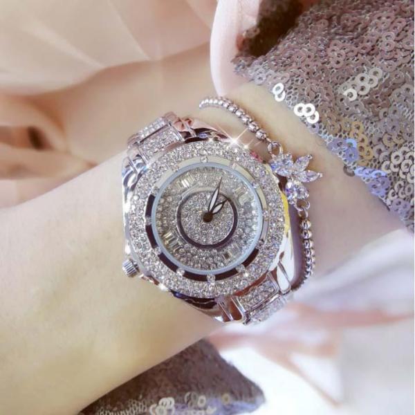 Đồng hồ nữ BS Bee Sister FA0917M đính đá thời trang