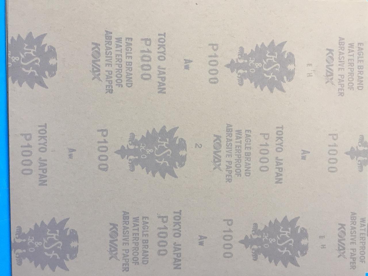 Giấy giáp nhật P1000, giấy giáp nước, Bộ 10 tờ giấy giáp nhật cao cấp