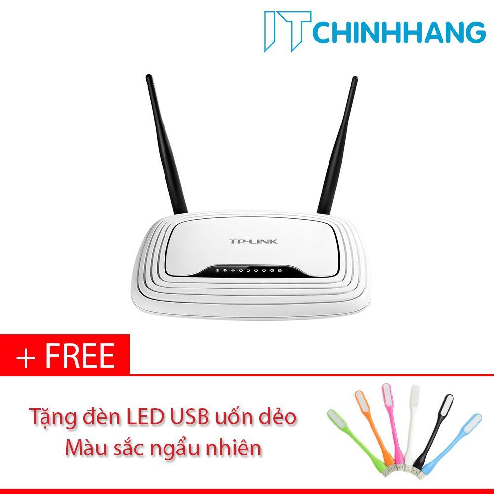 Bộ Phát Sóng Wifi chuẩn N tốc độ 300Mbps WR841N + Tặng đèn LED USB- Hãng Phân Phối Chính Thức