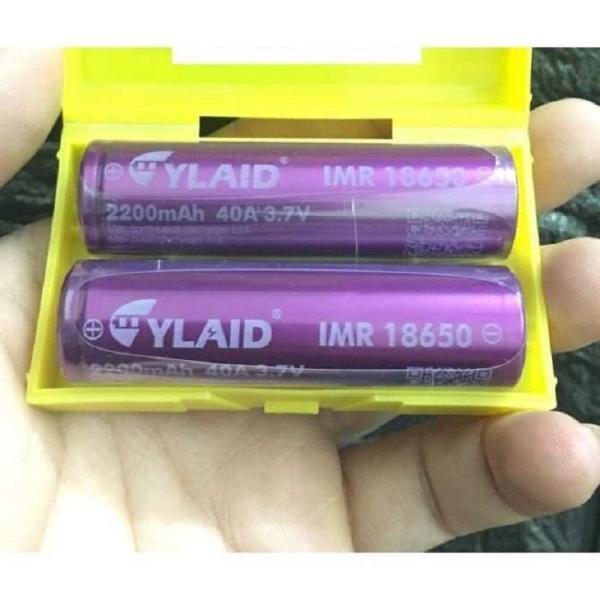 Pin Cylaid Tím 2200mah/ 40A - Pin có chip bảo vệ
