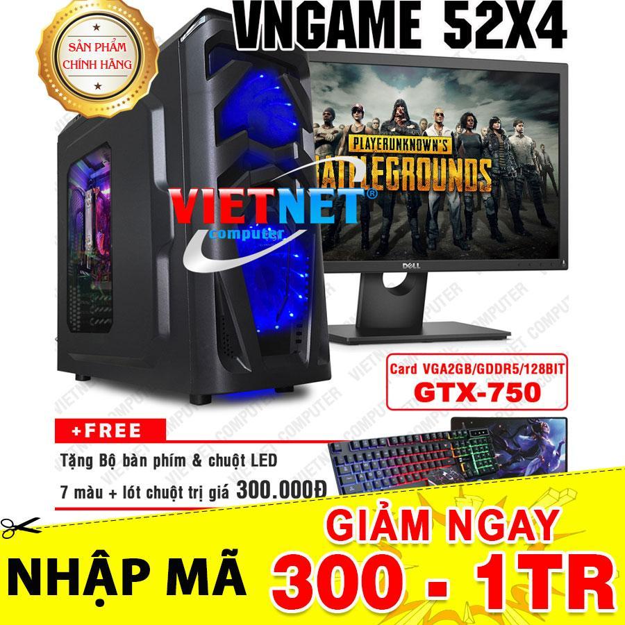 Hình ảnh Máy tính chiến game VNgame 52X4 core i5 2400 GTX-750 8GB 500GB + LCD Dell 22inch
