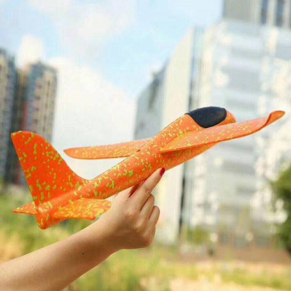 Hình ảnh Máy bay xốp tiêm kích phi tay loại to [ 46cm * 48cm ]