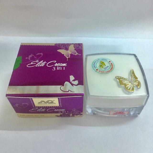 Kem Con Bướm Nguyễn Quách - Elite Treatment Cream 3 In 1