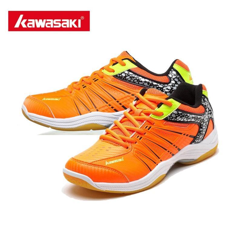 giầy cầu lông kawasaki 061 ( cam )