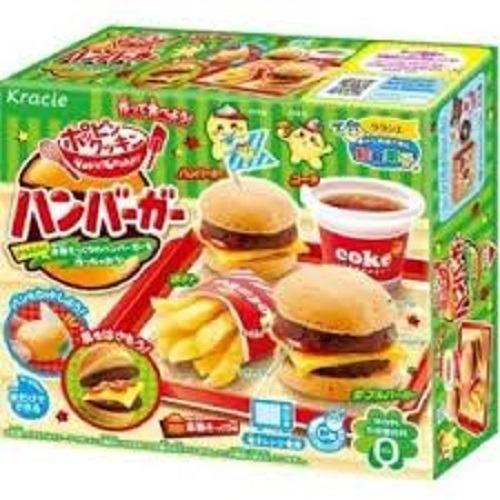 Hình ảnh Popin cookin làm bánh Hamburger