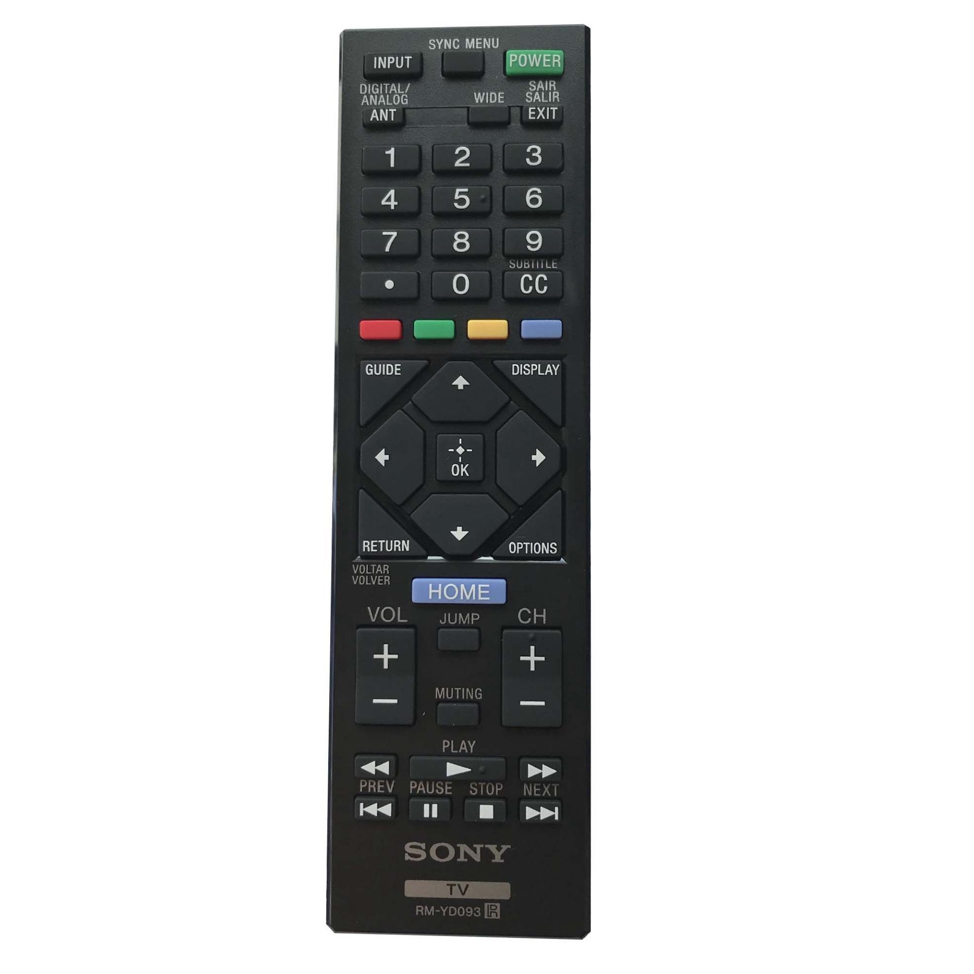 Điều khiển tivi sony RM-YD093  (đen)