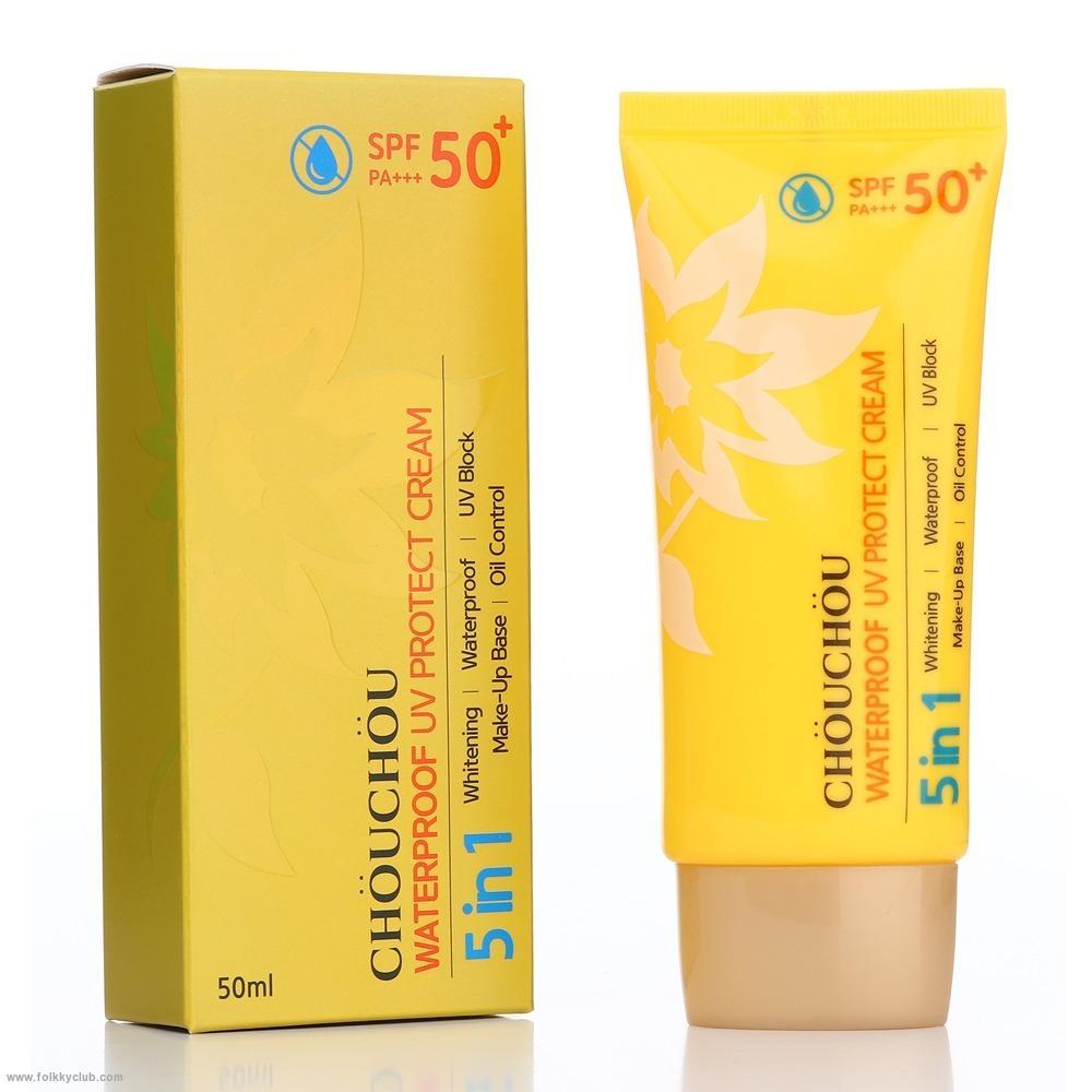 Kem chống nắng Chou Chou Waterproof UV Protect Cream SPF50+ PA+++50ml