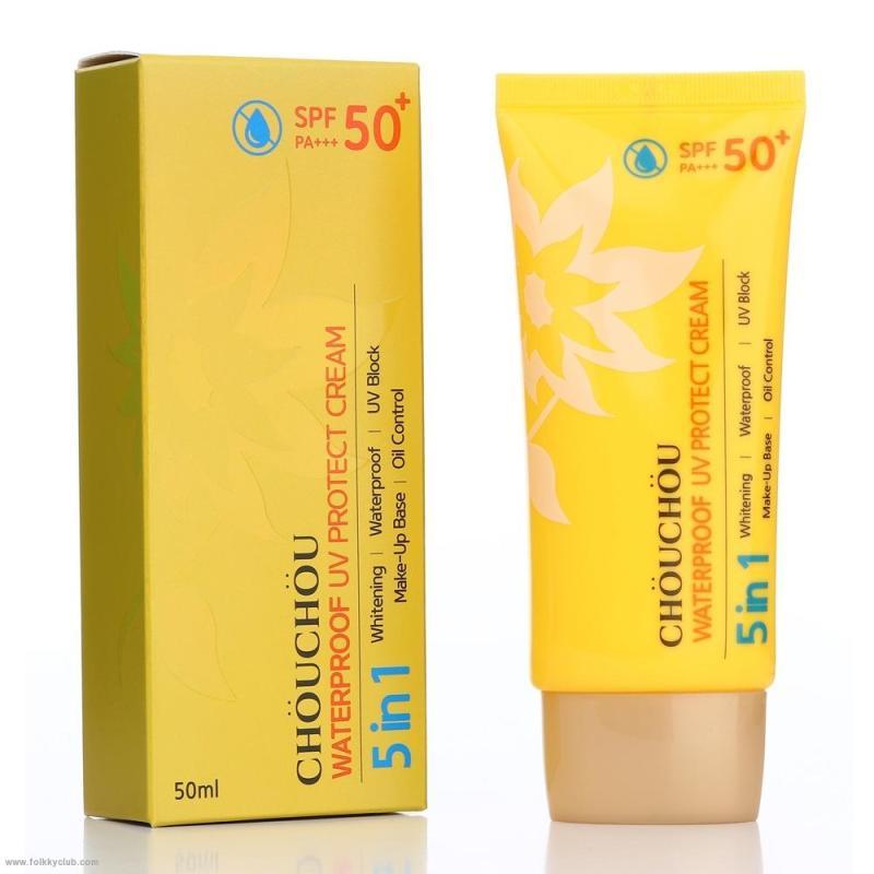 Kem chống nắng Chou Chou Waterproof UV Protect Cream SPF50+ PA+++50ml nhập khẩu