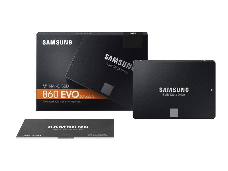 Hình ảnh Ổ cứng SSD Samsung 860 Evo 2.5-Inch SATA III - 250GB