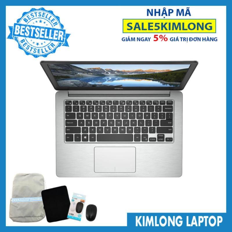Laptop Dell Inspiron N5370 : i5-8250U  4GB RAM  256GB SSD   Radeon 530 2GB + UHD Graphics 620  13.3 FHD IPS  Ledkey  Free Dos - KimLongLaptop