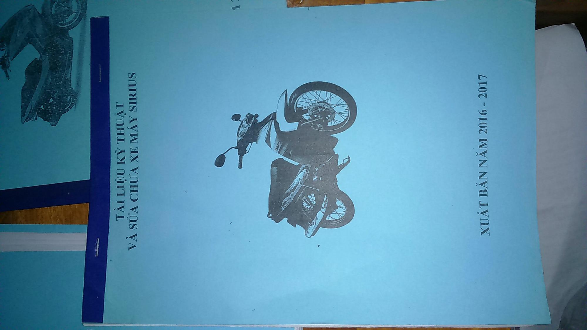 Mua Sách hướng dẫn sữa chữa xe máy
