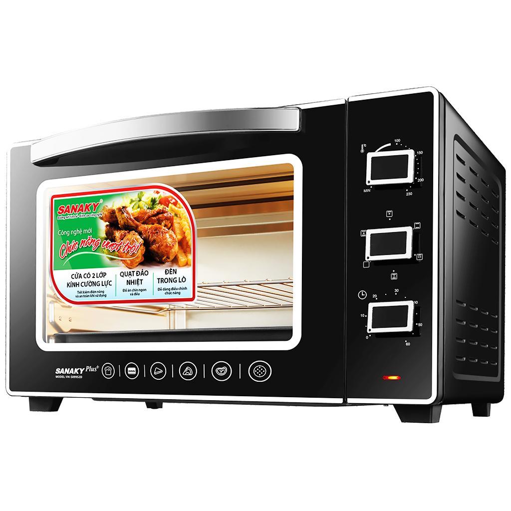 Lò nướng Sanaky VH-5099S2D - 2000W 50L
