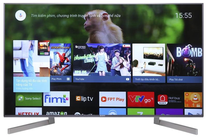 Bảng giá Smart Tivi 4K Sony  55 inch Full HD - Model 55X9000F(Đen)