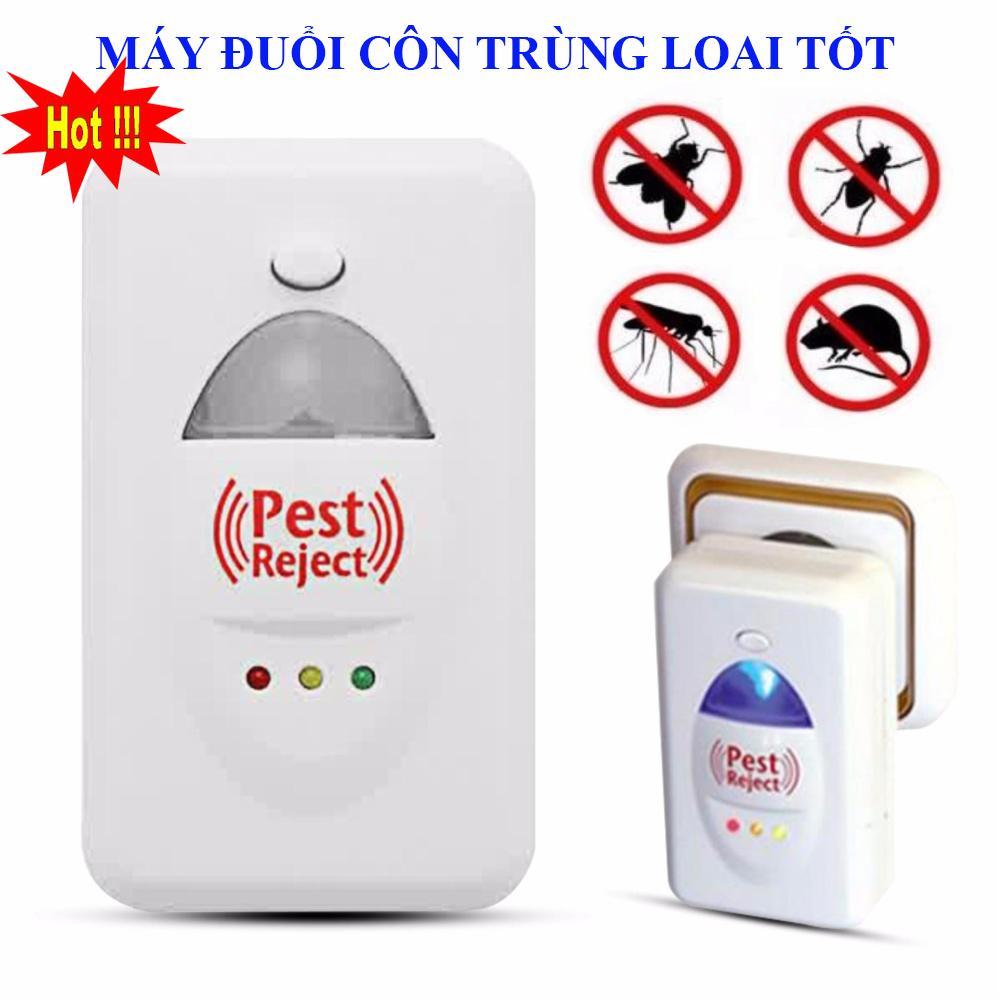 Ánh Sáng Thu Hút Muỗi Không Hiệu Quả Bằng, Máy Đuổi Côn Trùng Pest Reject NSK2008211 Loại Tốt, ( Đuổi Chuột, Ruồi, Muỗi, Rán ), Máy Đuổi Các Loại Côn Trùng Bằng Sóng Âm Giảm Tới 50%, Hiệu Quả Tốt , An Toàn Khi Sử Dụng
