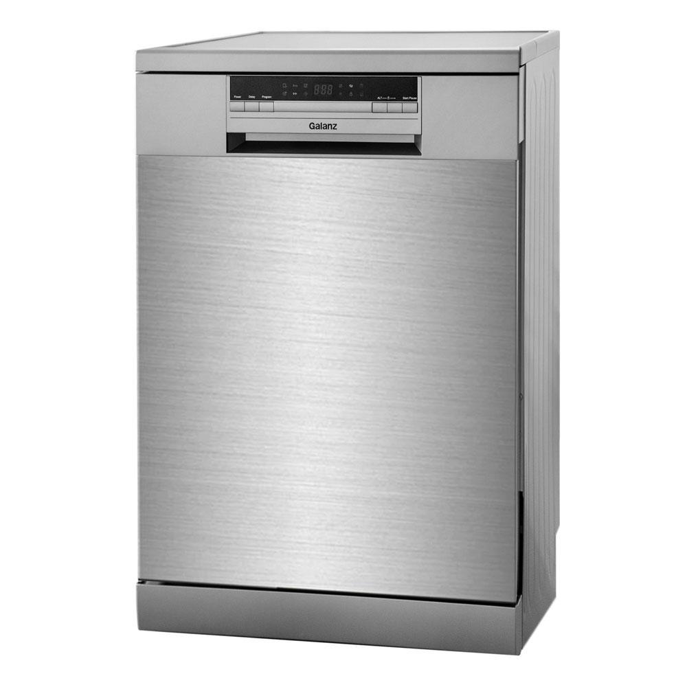 Máy rửa chén bát 12 bộ Galanz W60F555, Khuyến mại bộ chất tẩy rửa