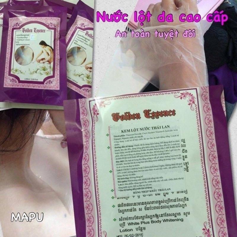 Kem lột trắng da Golden Essence Thái Lan nhập khẩu
