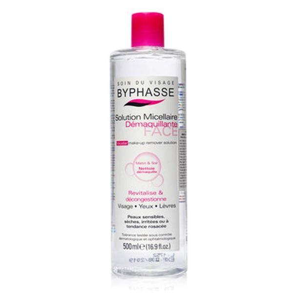 Nước tẩy trang Byphasse Micellar Make-up Remover Solution 500ml giá rẻ