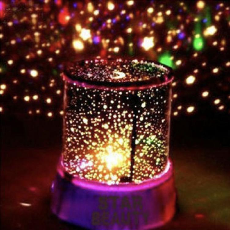 Đèn Ngủ Tạo Sao ngân hà - Star Beauty cực đẹp j1-0 (Đen)