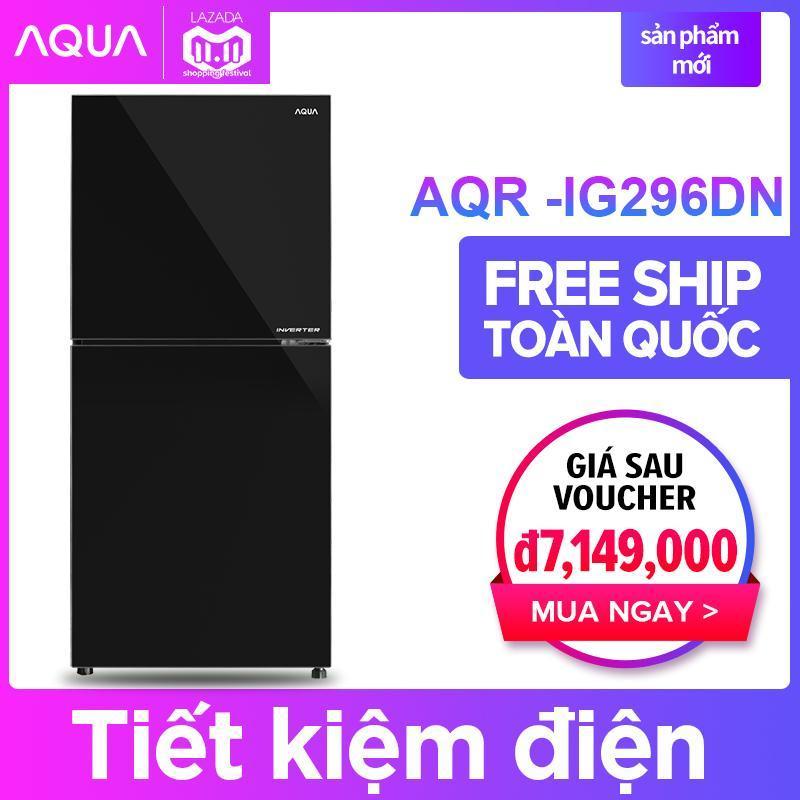 Tủ lạnh AQUA AQR-IG296DN 284L ( Đen ) - Hàng phân phối chính hãng