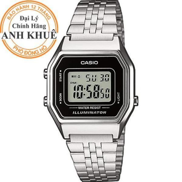 Đồng hồ nữ dây kim loại Casio Anh Khuê LA680WA-1DF bán chạy
