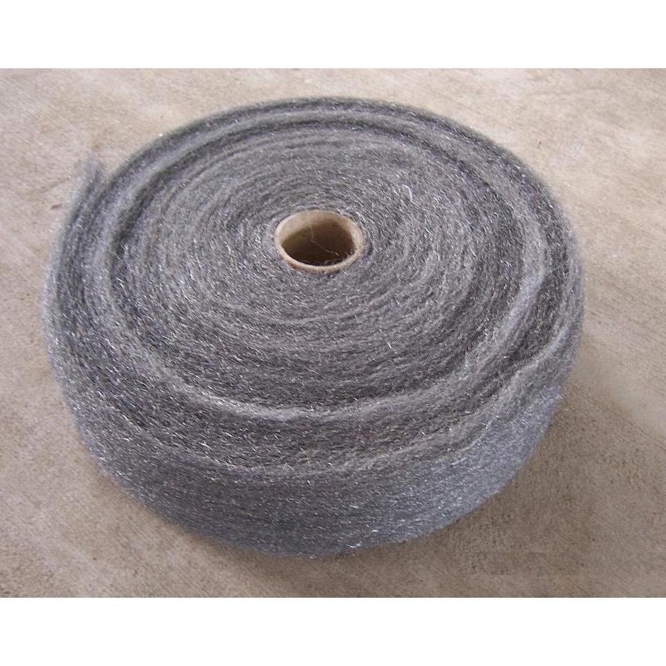 Hình ảnh Bùi Nhùi Cuộn Lớn Sỉ - Steel Wire Wool Grade 0#, 00#,000#, 0000#