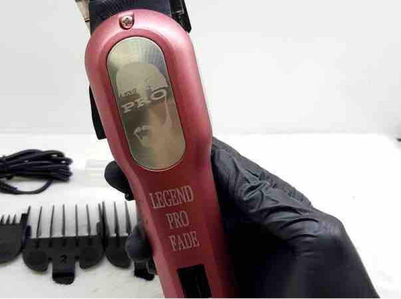 Tông Đơ Pin lưỡi thép hớt tóc chuyên nghiệp bấm viền sắc nét tốt nhất