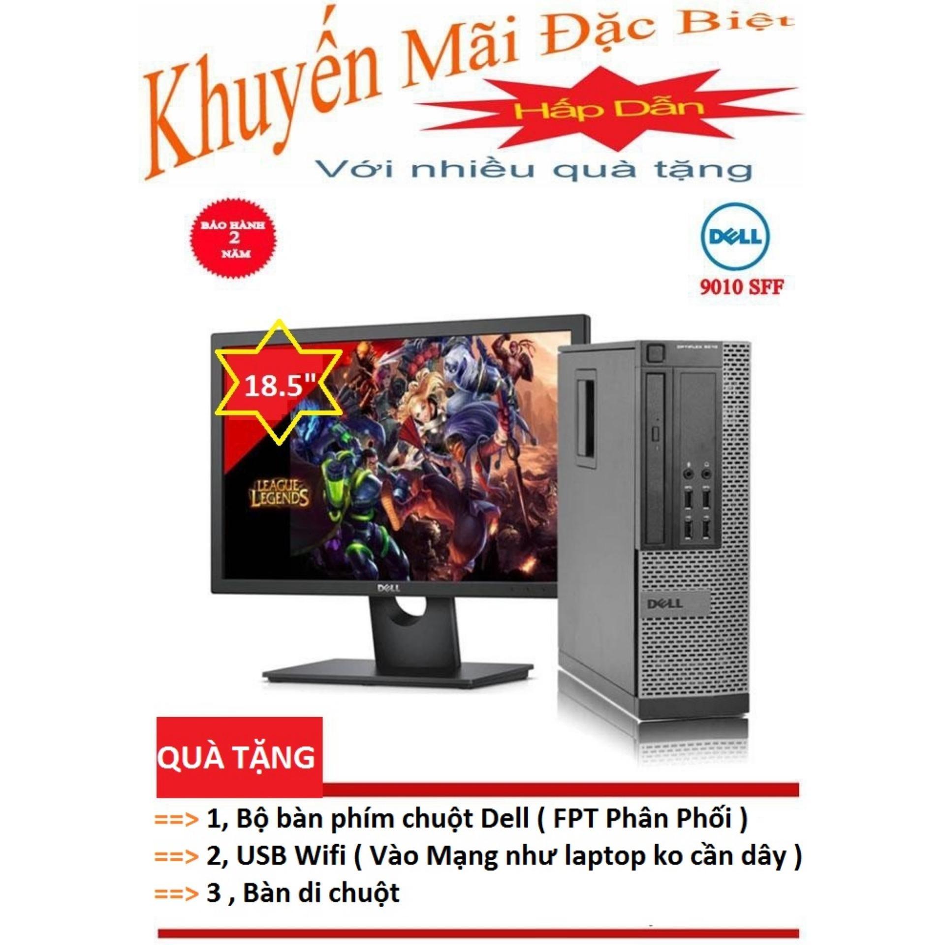 """Bộ Máy Tính Đồng Bộ Dell Optiplex 9010 ( I5 3450 / 4G / 500G ) Màn Hình 18.5"""" Wide Led - Hàng Nhập Khẩu"""