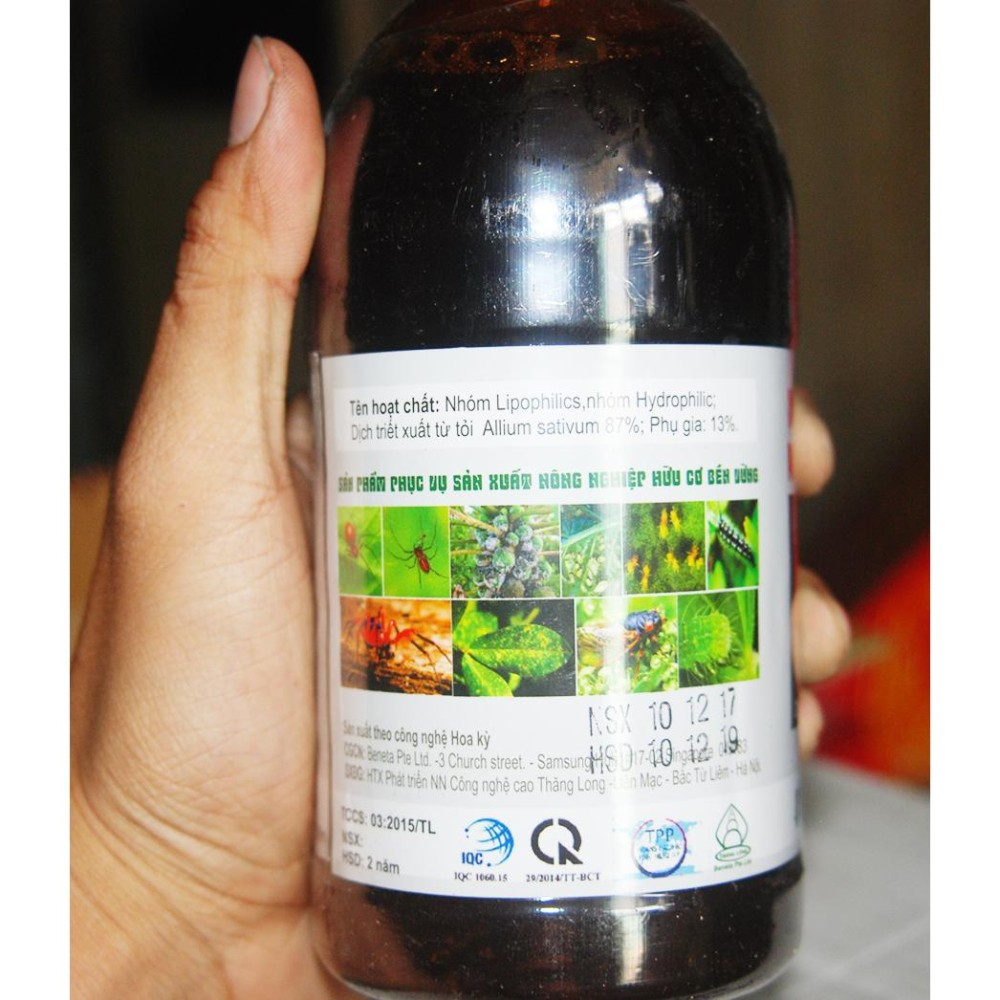 Bán Thuóc Trừ Sau Sinh Học Allium An Toàn Cho Gia Đình Theo Global Gap 500 Ml Topagri Trong Hồ Chí Minh