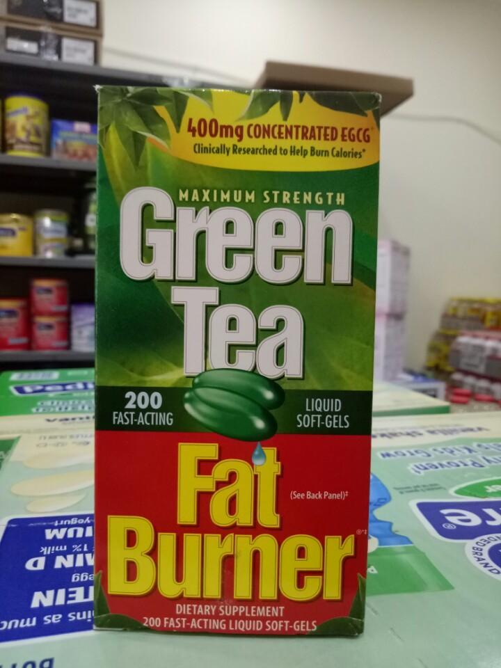 Viên uống giảm cân từ trà xanh Green Tea Fat Burner 200 viên của Mỹ (Chai)