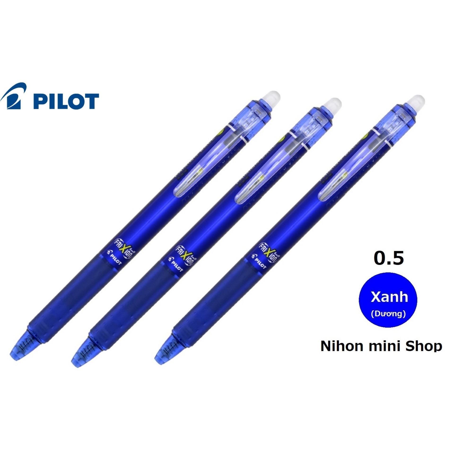 Mua 3 Bút bi xóa được Frixion ball 0.5mm (Japan) Xanh dương