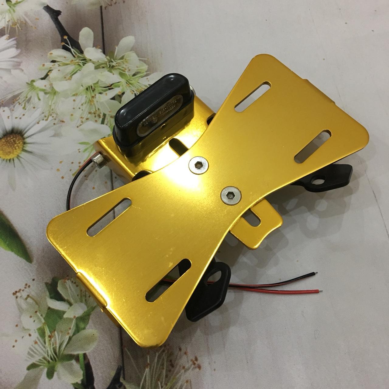 LƯU Ý - Giá treo biển số có đèn LED độ xe siêu chất dành cho xe exciter