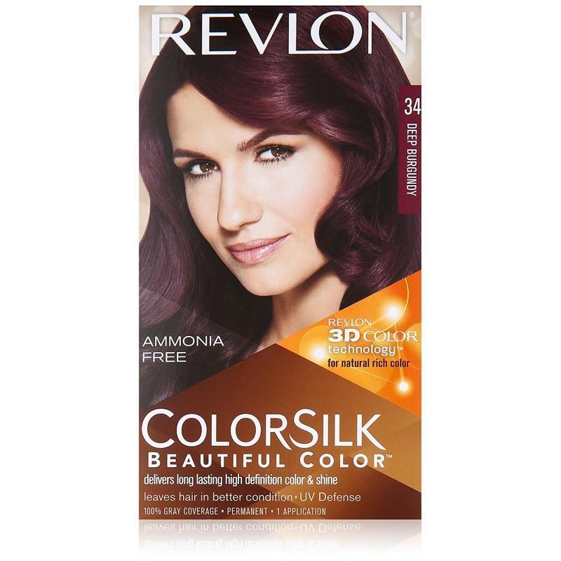 Thuốc Nhuộm Tóc Phủ Bạc Chiết Xuất Từ Thảo Mộc Thiên Nhiên Màu Sắc Trẻ Trung , Năng Động Revlon Beautiful Color (100% From USA) cao cấp