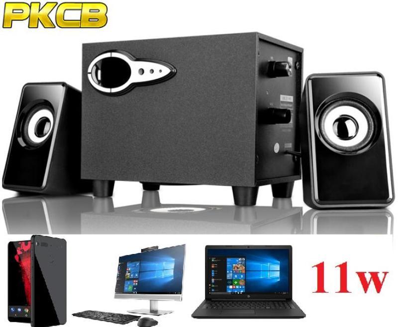 Loa Nghe Nhạc điện thoại, máy tính, tivi vi tính Bass treb 2018 PKCB 301